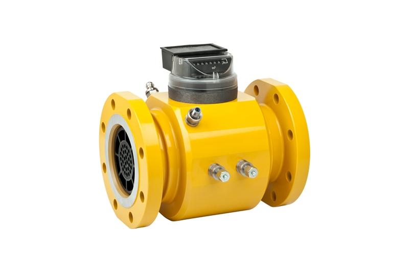 Natural Gas Well Meter : Turbine meter fmt l flowmeth