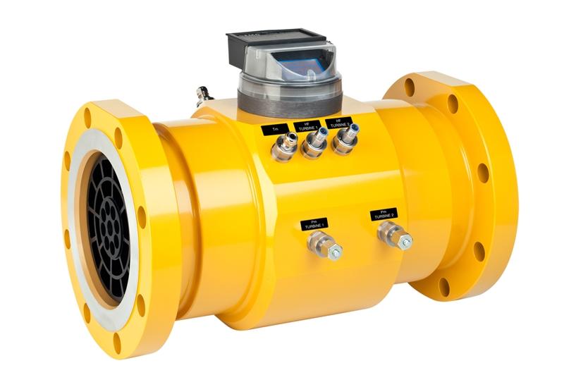 Natural Gas Well Meter : Turbine meter ettm flowmeth
